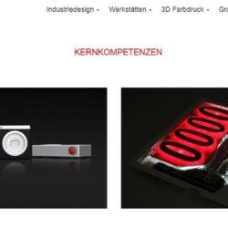 internetagentur-muenchen website für idustrie und produktdesign aus münchen